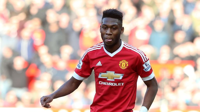 MANCHESTER, ENGLAND - FEBRUARY 28:  Timothy Fosu-Mensah of Manchester United in action during the