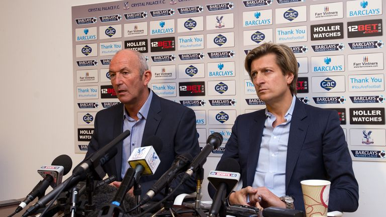 Steve Parish hired Pulis as Crystal Palace job in November 2013