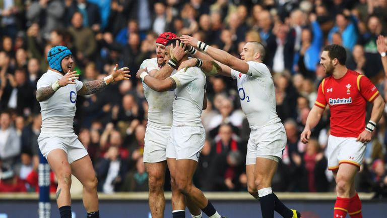 England led 19-0 early in the second-half at Twickenham on Saturday