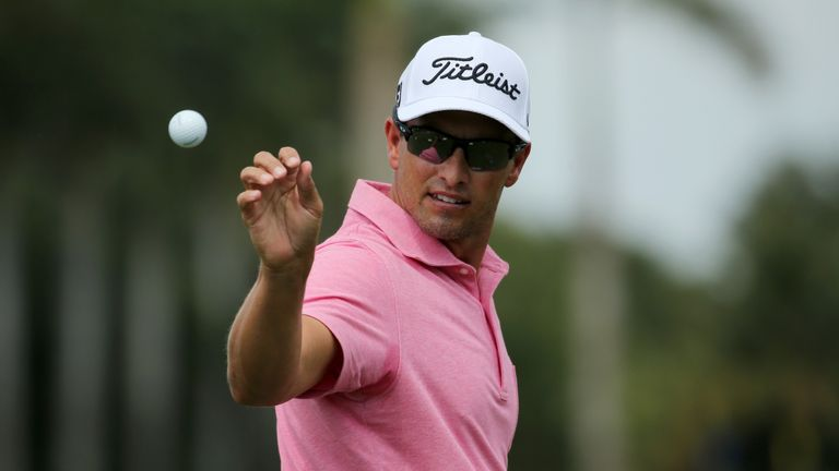 In-form Adam Scott is two clear at the halfway stage