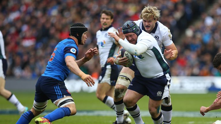 WP Nel made seven carries against France
