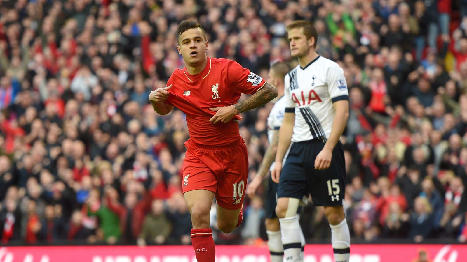 Liverpool 1 - 1 Tottenham - Match Report & Highlights