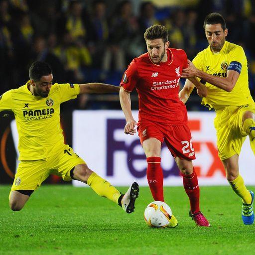 Liverpool v Villarreal preview