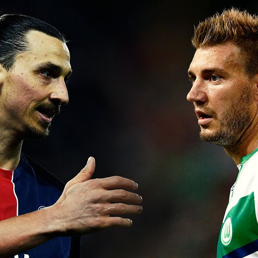 Who said it? Zlatan or Bendtner?