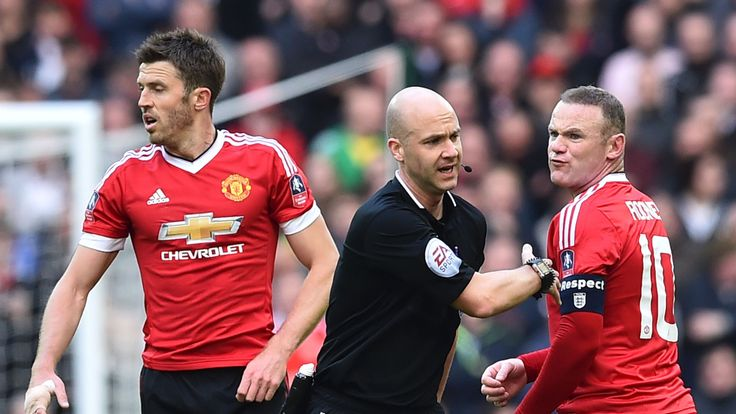 Louis van Gaal was critical of referee Anthony Taylor