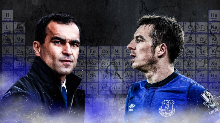 Roberto Martinez reprimanded Leighton Baines over his suggestion that Everton lack chemistry this season