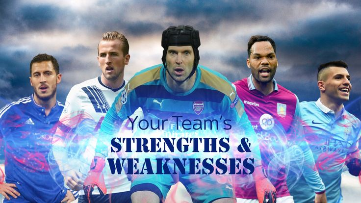 Premier League - Your team's strengths and weaknesses