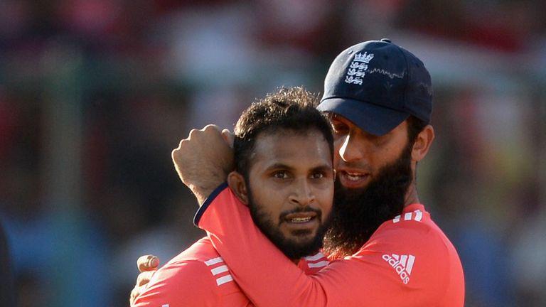 Adil Rashid (left) and Moeen Ali are both England regulars
