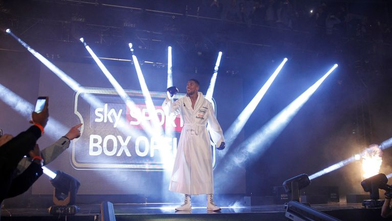 It took Anthony Joshua less time than some of the all-time greats