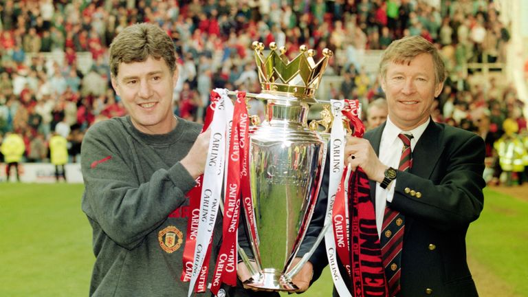 Manchester United went on to claim the Premier League title in 1996 after Alex Ferguson's mind games