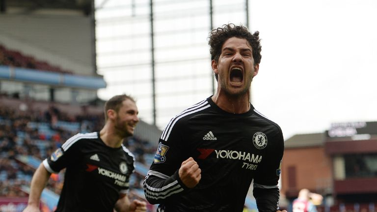 Alex Pato scored his first goal for Chelsea