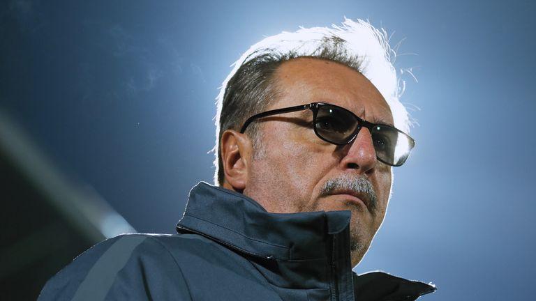 Ante Cacic, head coach of Croatia