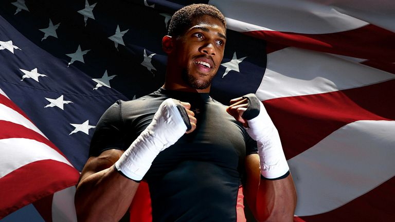 Anthony Joshua has yet to fight outside the UK as a pro