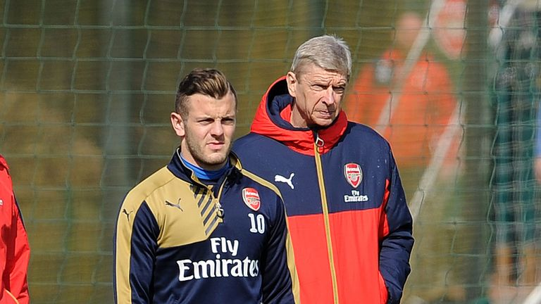 Arsenal manager Arsene Wenger says the club's sole focus is on getting Jack Wilshere up to full fitness