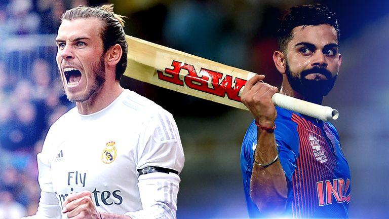 Virat Kohli and Gareth Bale praise one another on Twitter | Football