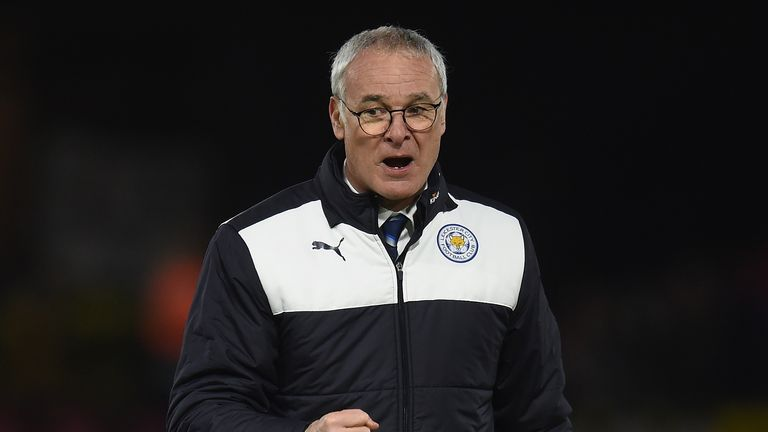 Claudio Ranieri manager of Leicester City
