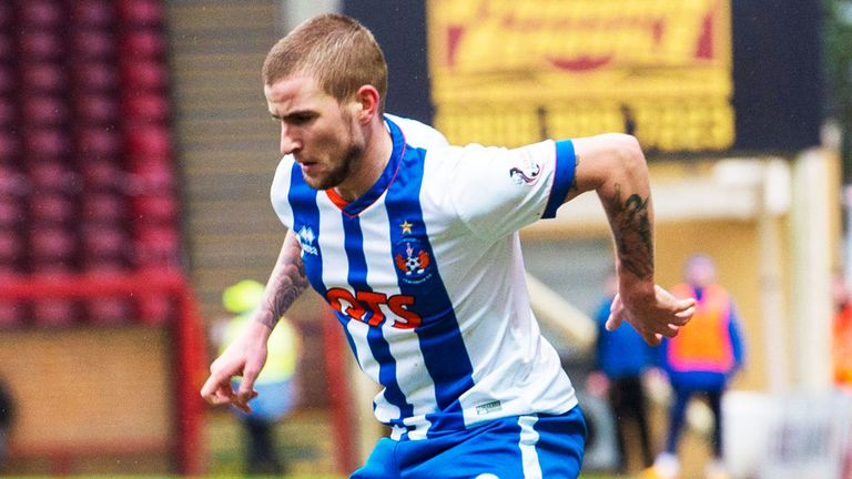 Kilmarnock winger Craig Slater is hoping to return to action