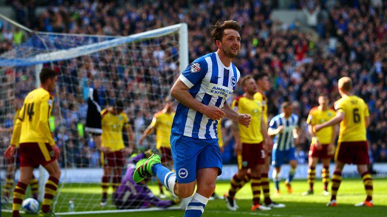 Dale Stephens of Brighton celebrates