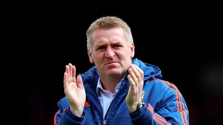 Brentford head coach Dean Smith