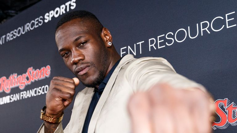 Deontay Wilder has no problem with fighting away from home