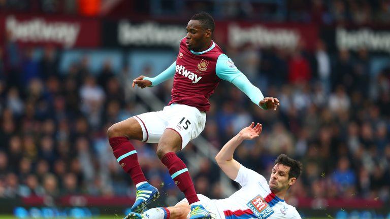 Diafra Sakho missed West Ham's 3-3 draw with Arsenal through injury