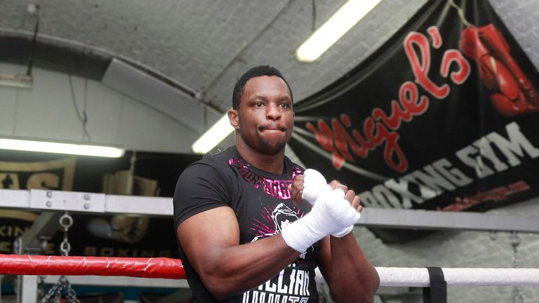 Dillian Whyte will return to the ring on the undercard of Anthony Joshua v Dominic Breazeale on June 25