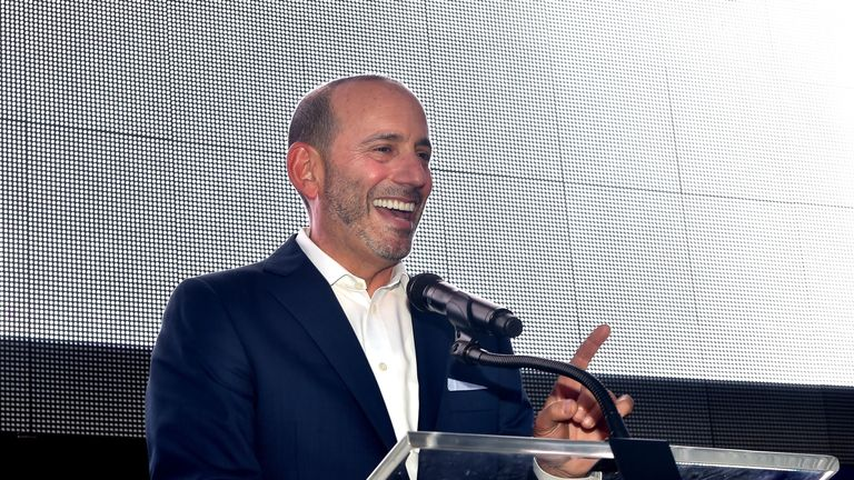 MLS commissioner Don Garber has confirmed St Louis and Sacramento are candidates for MLS inclusion