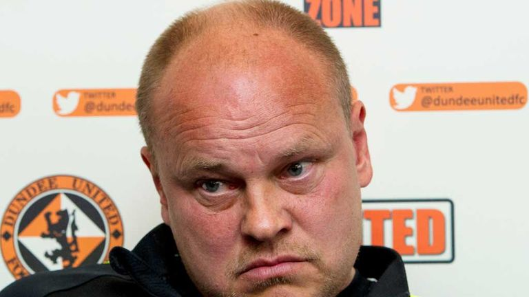 Paatelainen had been in charge at Tannadice since mid-October