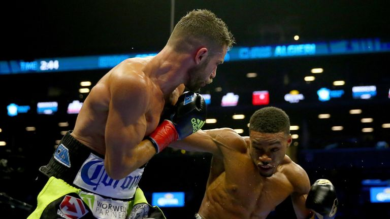 Errol Spence Jr topped the bill in style at the Barclays Center