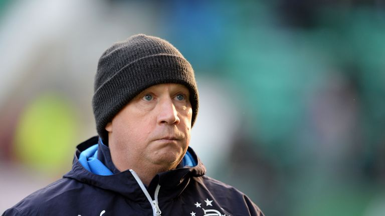 Kenny McDowall lost his first match as Rangers caretaker manager.