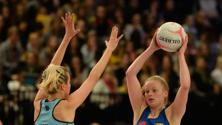 Claire Brownie (right) was part of an impressive season for Team Bath
