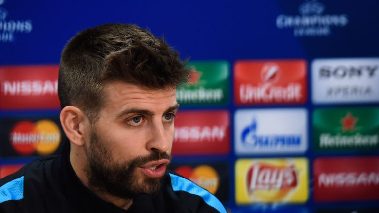 Gerard Pique says Atletico Madrid are a bigger threat than Real Madrid