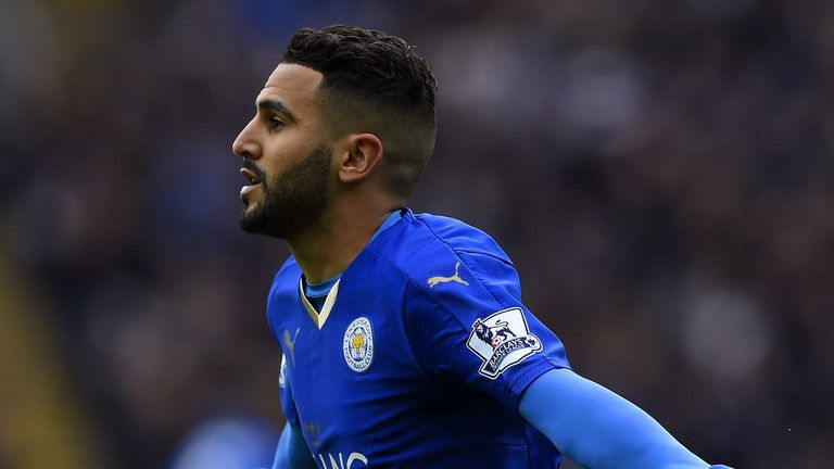 Riyad Mahrez set Leicester on their way to victory in their last game against Swansea