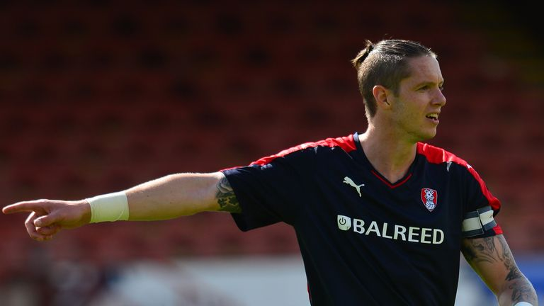 Greg Halford: Bagged a late winner for Rotherham