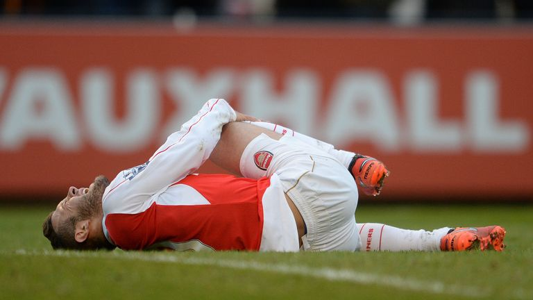 Jack Wilshere of Arsenal during the match between Arsenal U21 and West bromwich Albion U21