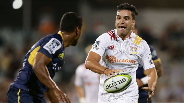 James Lowe scored a try in each half against the Brumbies
