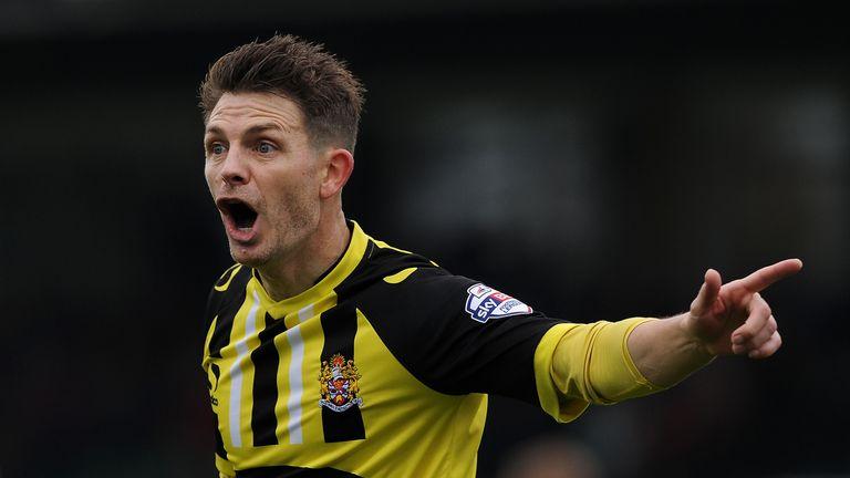 Jamie Cureton scored for Dagenham & Redbridge