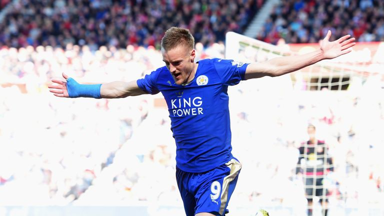 Jamie Vardy is of interest to Arsenal, who would like to speak to Leicester