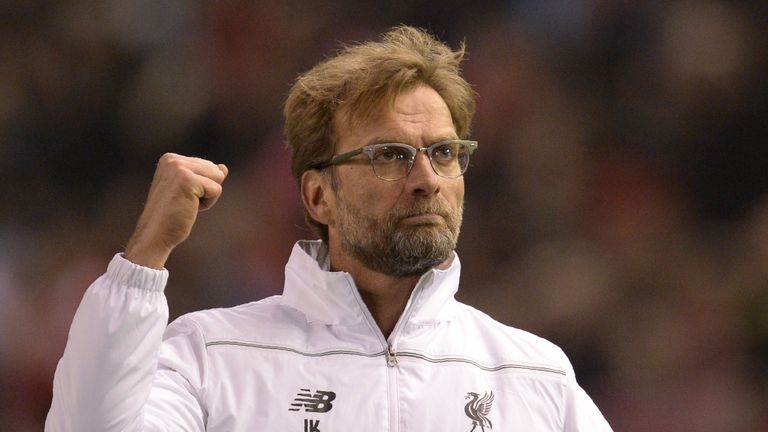 Jurgen Klopp's Liverpool are in the Europa League final