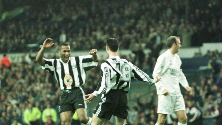 Keegan made his comments after Keith Gillespie's goal gave Newcastle a 1-0 win at Leeds