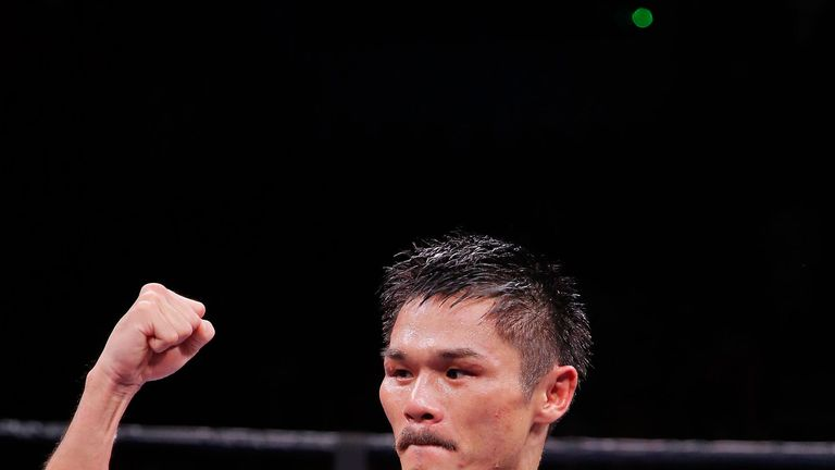 Kohei Kono retained his WBA world super-flyweight title