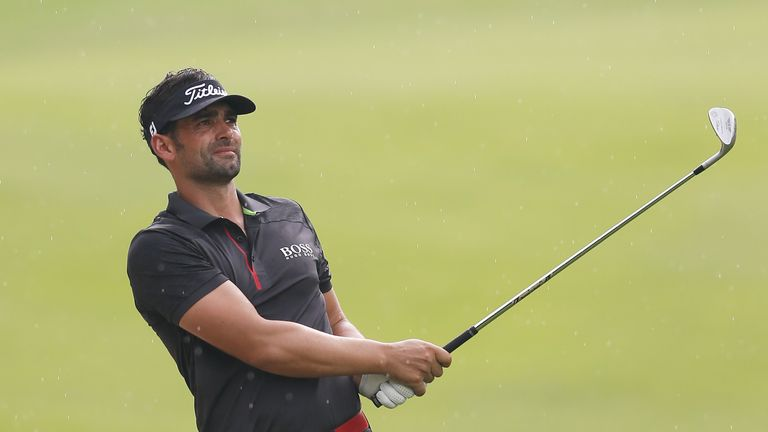 Lee Slattery was tied for the lead overnight but was unable to find a birdie on the extra day