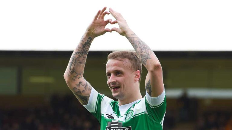 Leigh Griffiths Celtic, 'I'm happy me'
