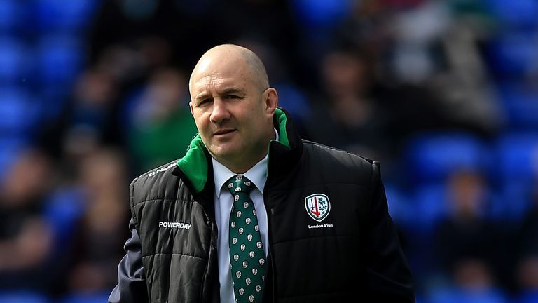 London Irish head coach Tom Coventry is preparing for a crucial game this weekend