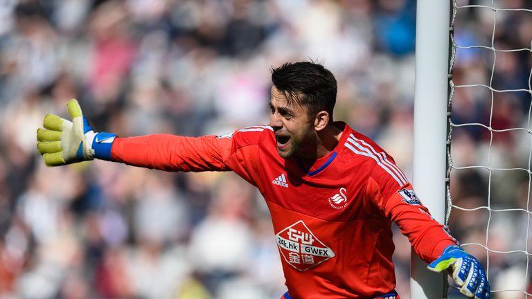 Swansea goalkeeper Lukasz Fabianski has been included in the squad