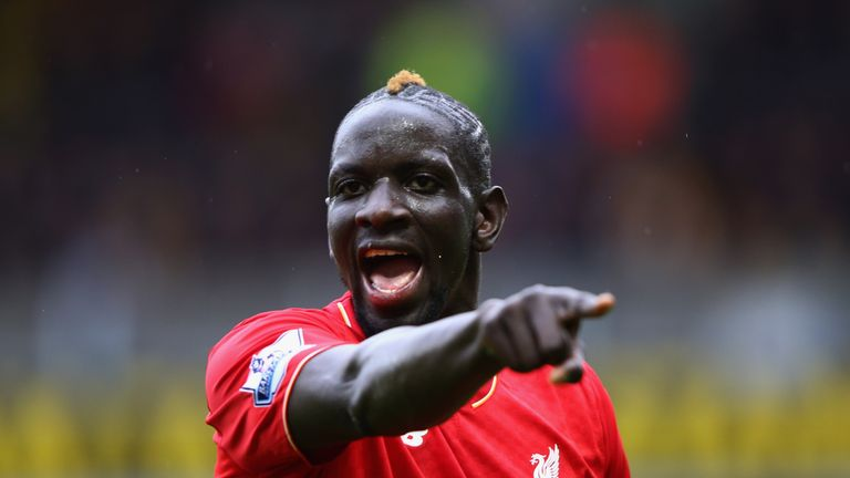 Mamadou Sakho of Liverpool gives instructions during the Premier League match v Watford at Vicarage Road, 20 December 2015