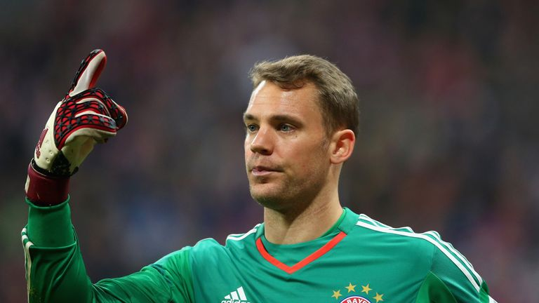 Manuel Neuer will be aiming to add to his World Cup winners' medal
