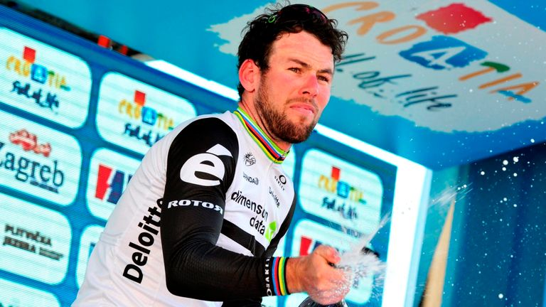 Mark Cavendish claimed his second sprint win of the season