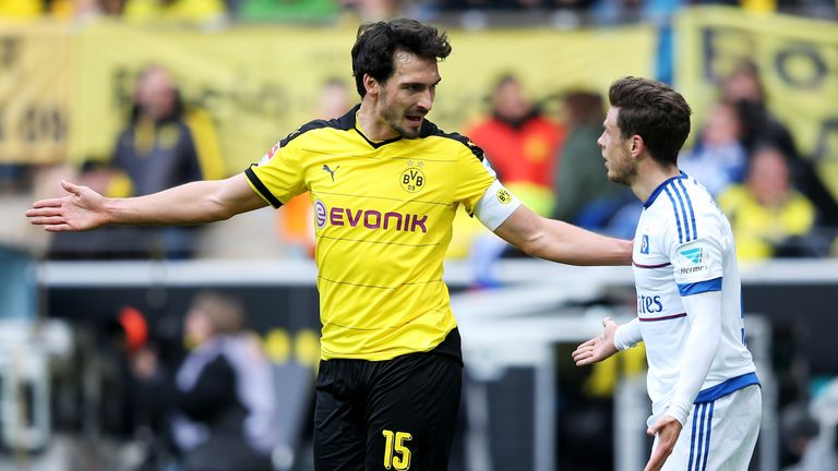 Hummels will play his last game for Dortmund against Bayern on Saturday