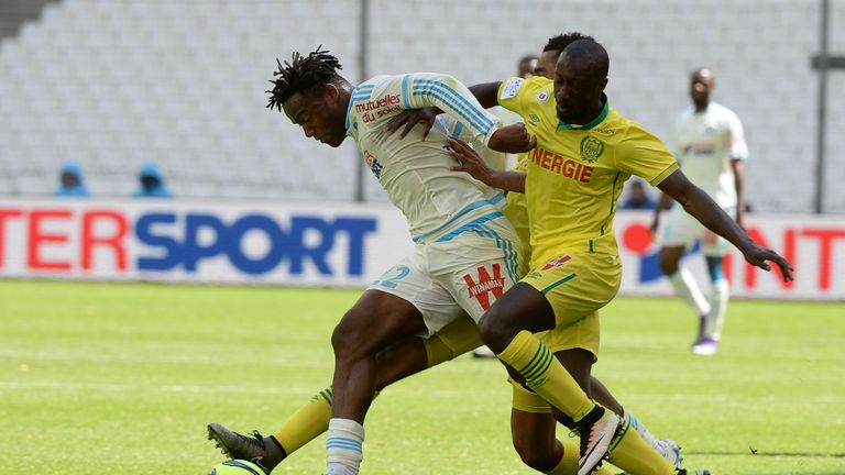 Marseille's Belgian forward Michy Batshuayi has interested many clubs across Europe, including Tottenham